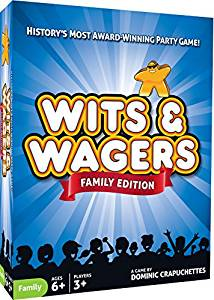 Wits and Wagers Family Game Sweet Thrills Toronto