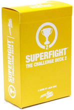 Superfight: The Yellow Deck 2 Game Sweet Thrills Toronto