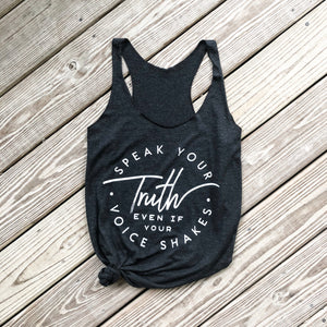 Speak Your Truth Tank