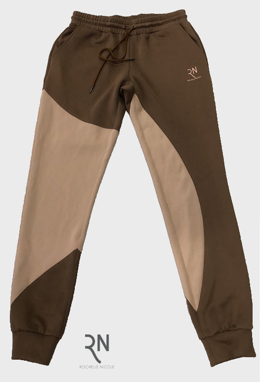 Camel and Coco Joggers