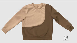 Camel and Coco Crew Neck Top