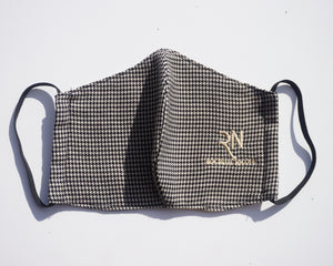 Houndstooth Mask - Fall 2020 Pre Collection