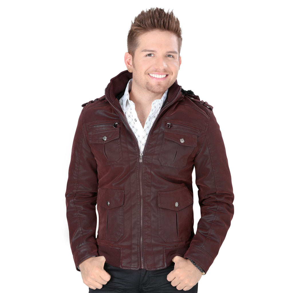 Montero - Mens Jackets - 0822 - Faux Leather Jacket
