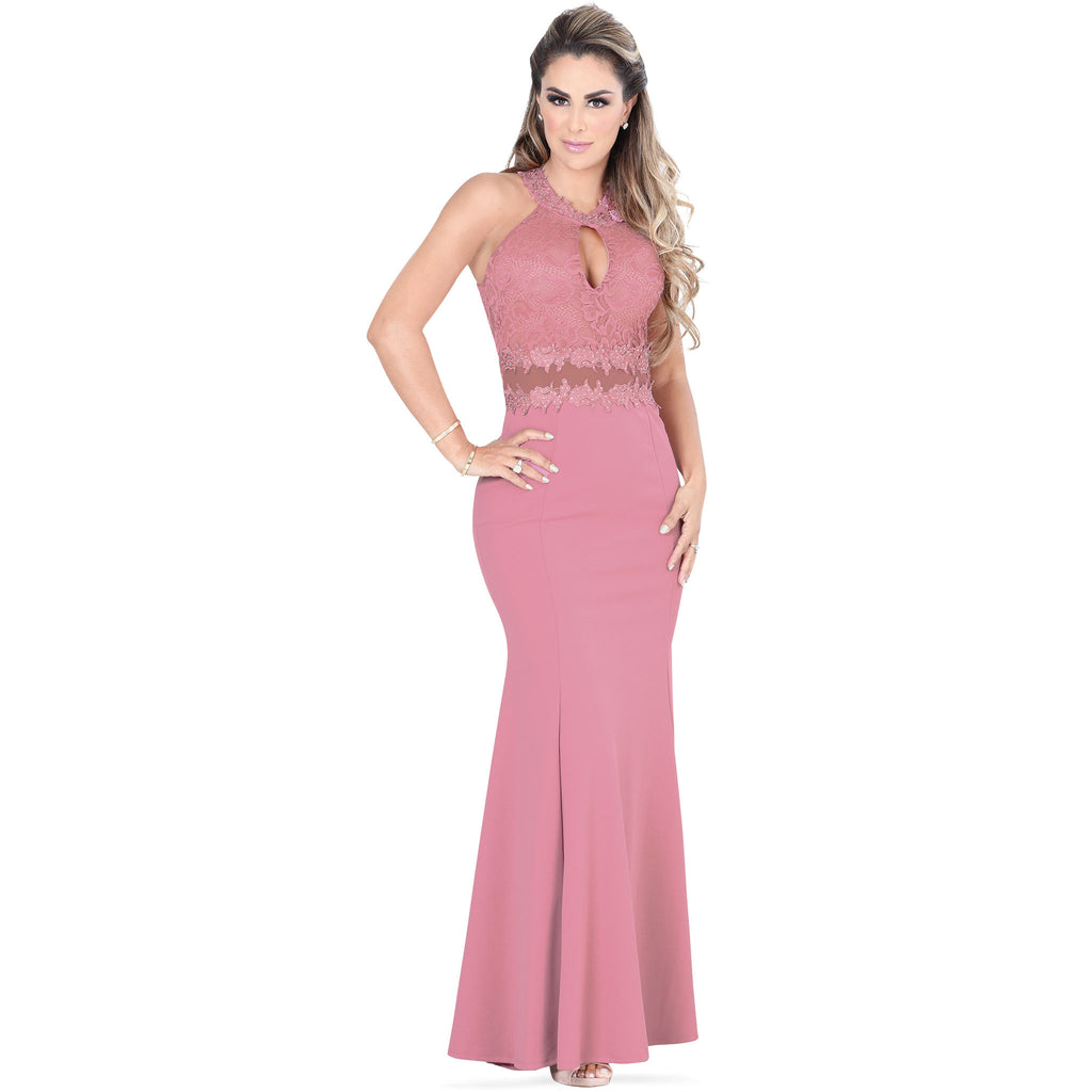 Danesi - Dresses - 7582 - Formal Maxi Dress