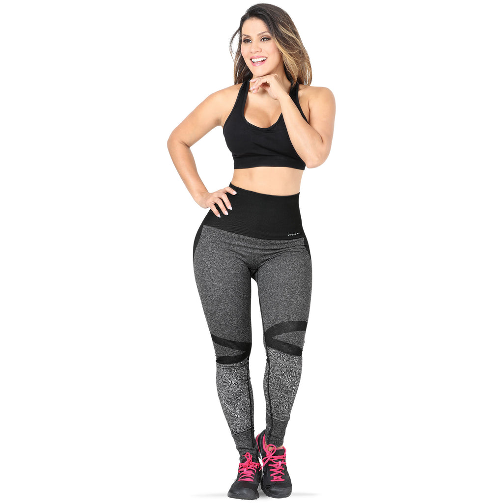 CYSM - Leggings - CYSM 909 - Ultra Compression and Abdomen Control Fit Leggings