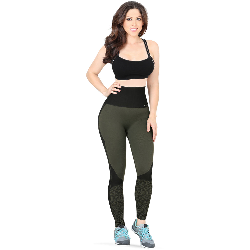 CYSM - Leggings - CYSM 931 - Ultra Compression and Abdomen Control Fit Leggings