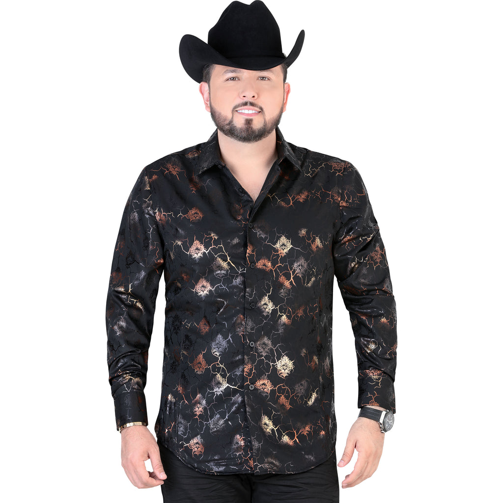 Lamasini - Mens Shirts - 1481 - Long Sleeve Shirt