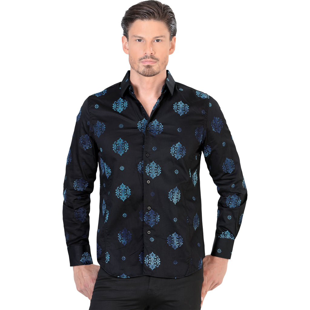 Lamasini - Mens Shirts - 1484 - Long Sleeve Shirt