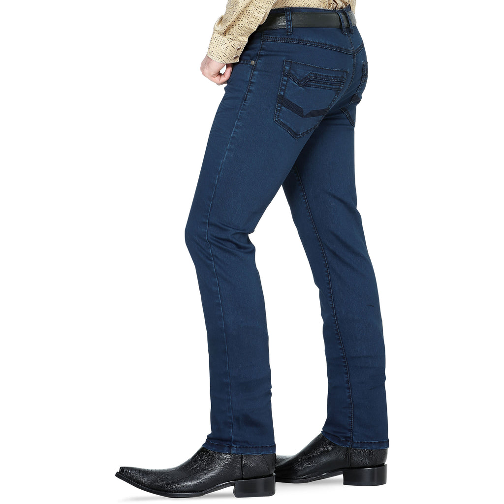 Lamasini - Mens Jeans - 2844 - Straight Leg Pants