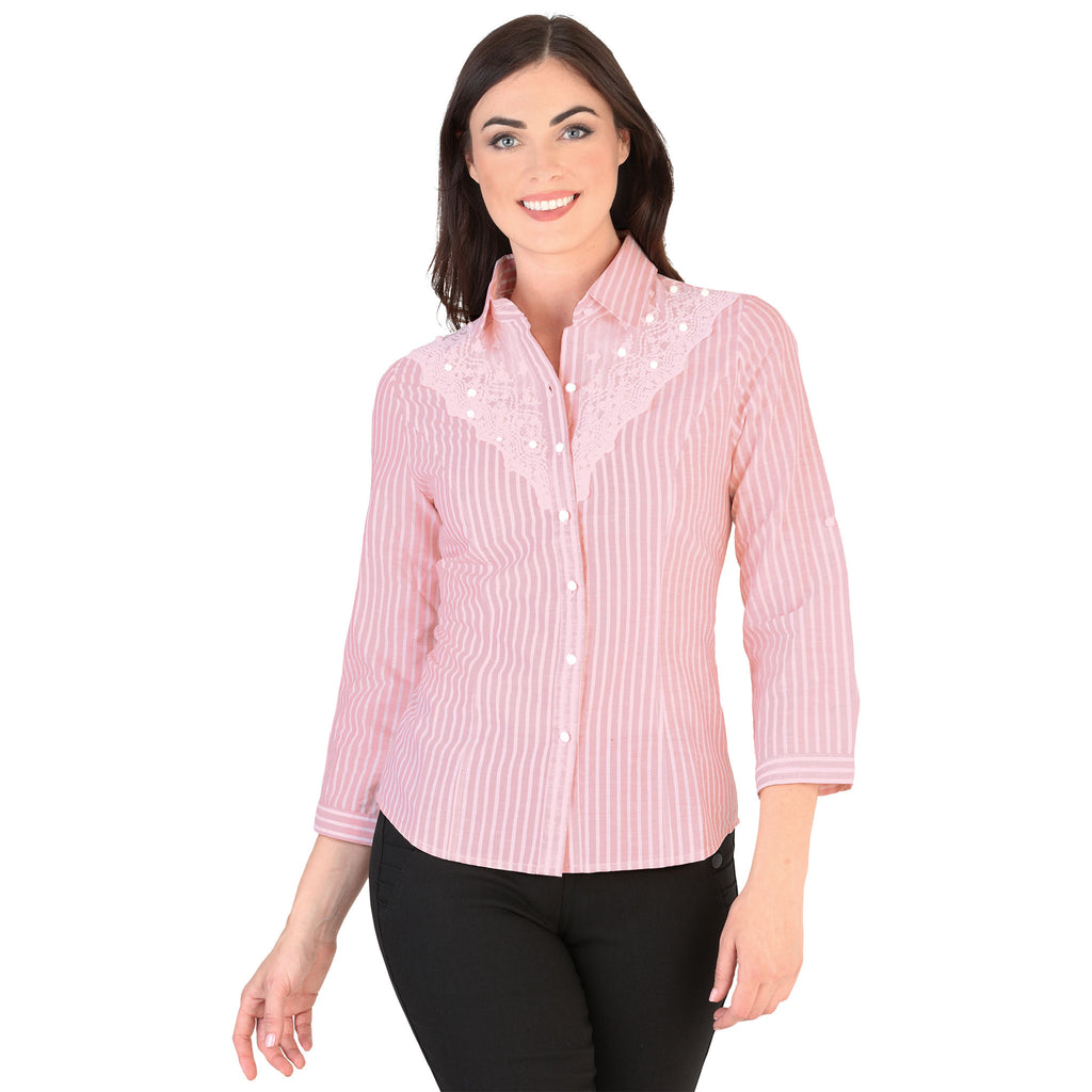 Danesi - Tops - 7659 - Striped Shirt