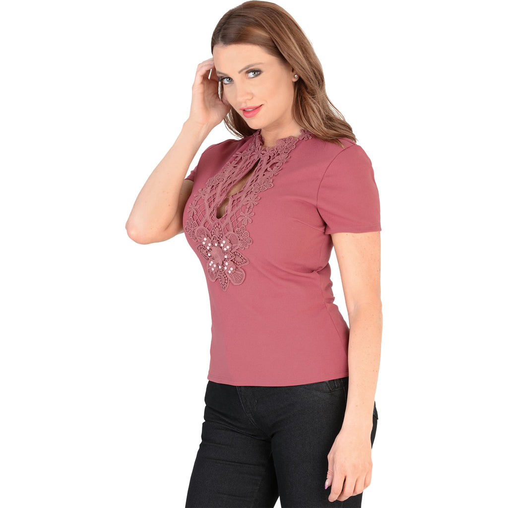 Danesi - Tops - 7660 - Short Sleeve Top