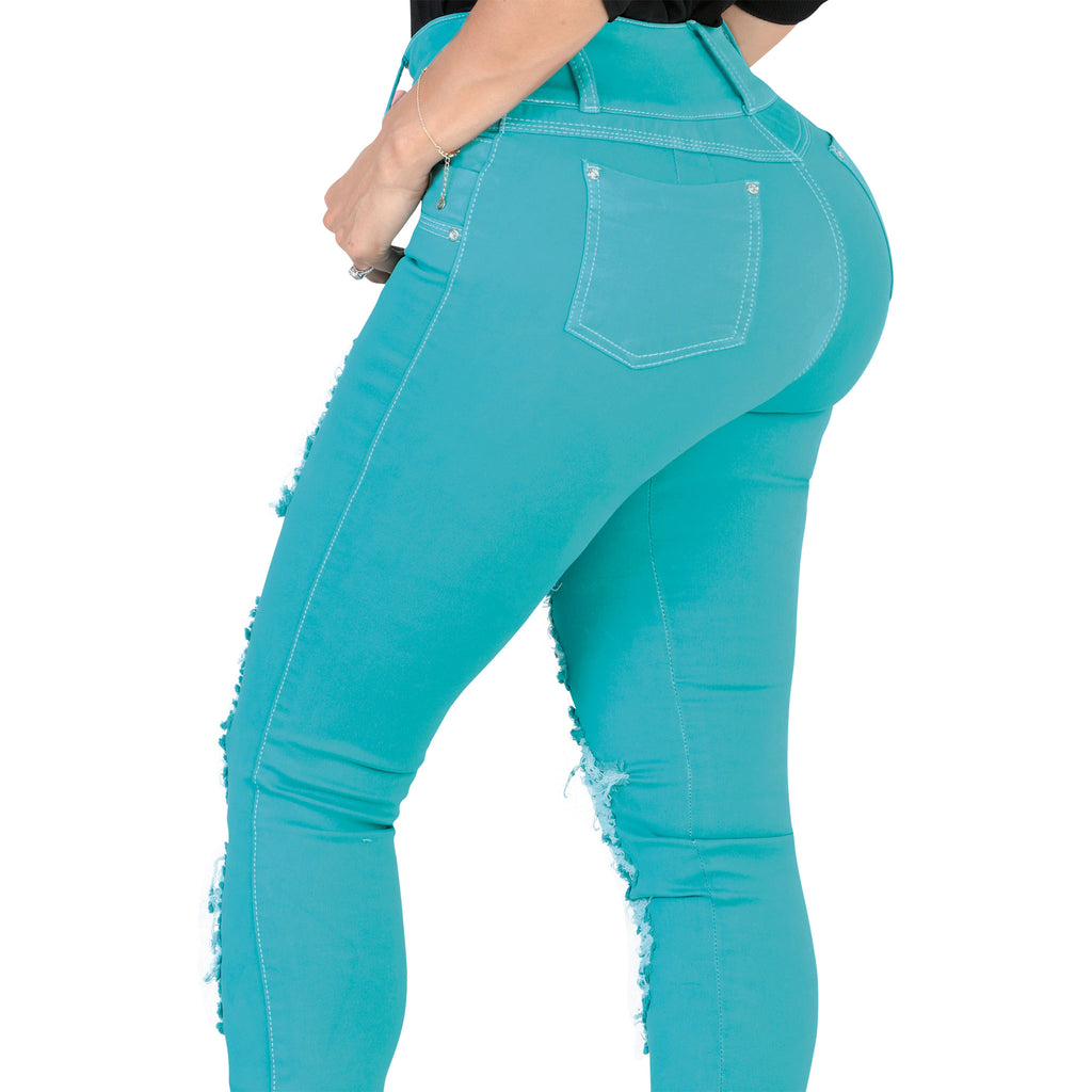 Lamasini - Jeans - LP71 - Distressed Colombian Jeans