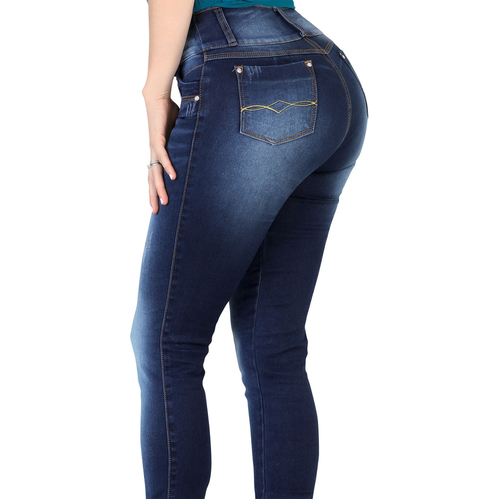 Lamasini - Jeans - LP74 - Washed Colombian Jeans