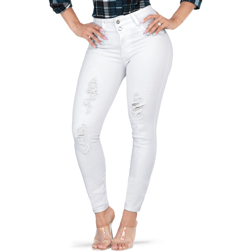 Lamasini - Jeans - LP75 - Distressed Colombian Jeans