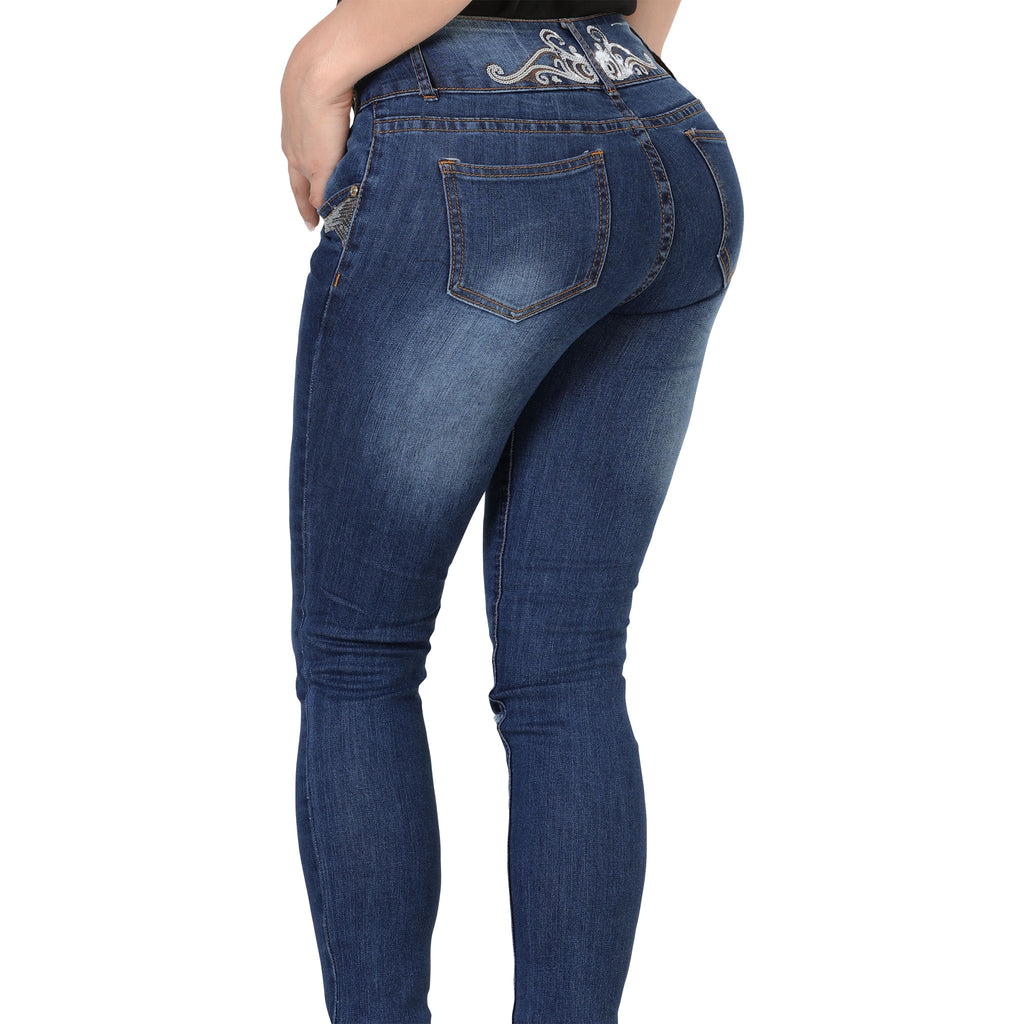 Sweet Look - Jeans - SD029 - Sequin Stretch Denim Jeans