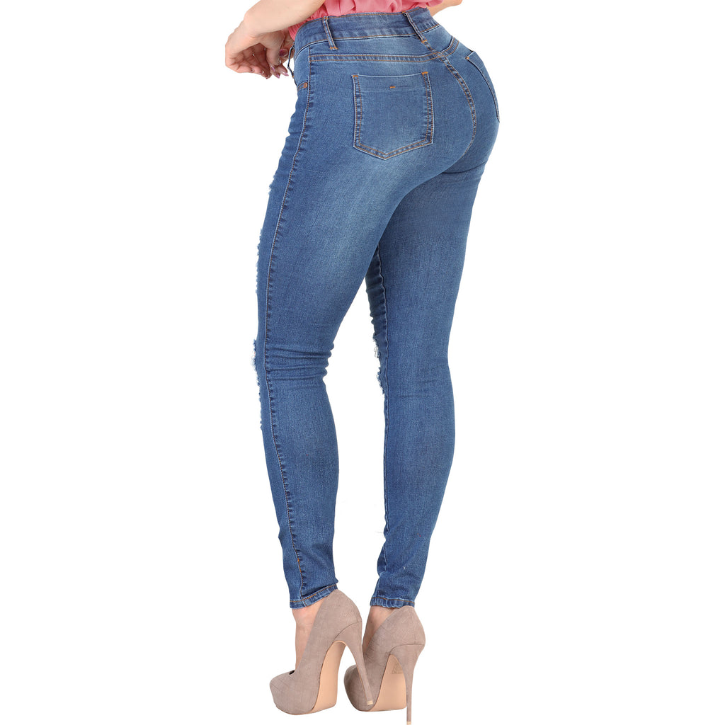Danesi - Jeans - SR16 - Distressed Stretch Denim Jeans