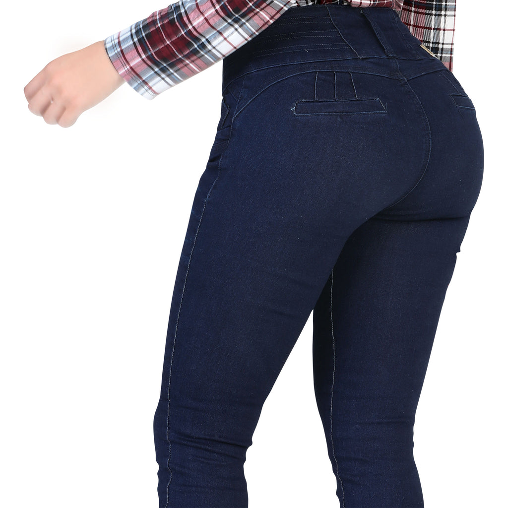 Mitzi Michel - Jeans - YC122 - Lattice Stretch Denim Jeans