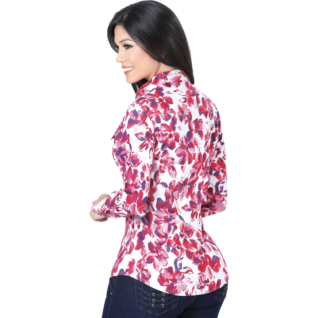 Danesi - Western Shirts - L277 - Western Shirt with Snap Buttons