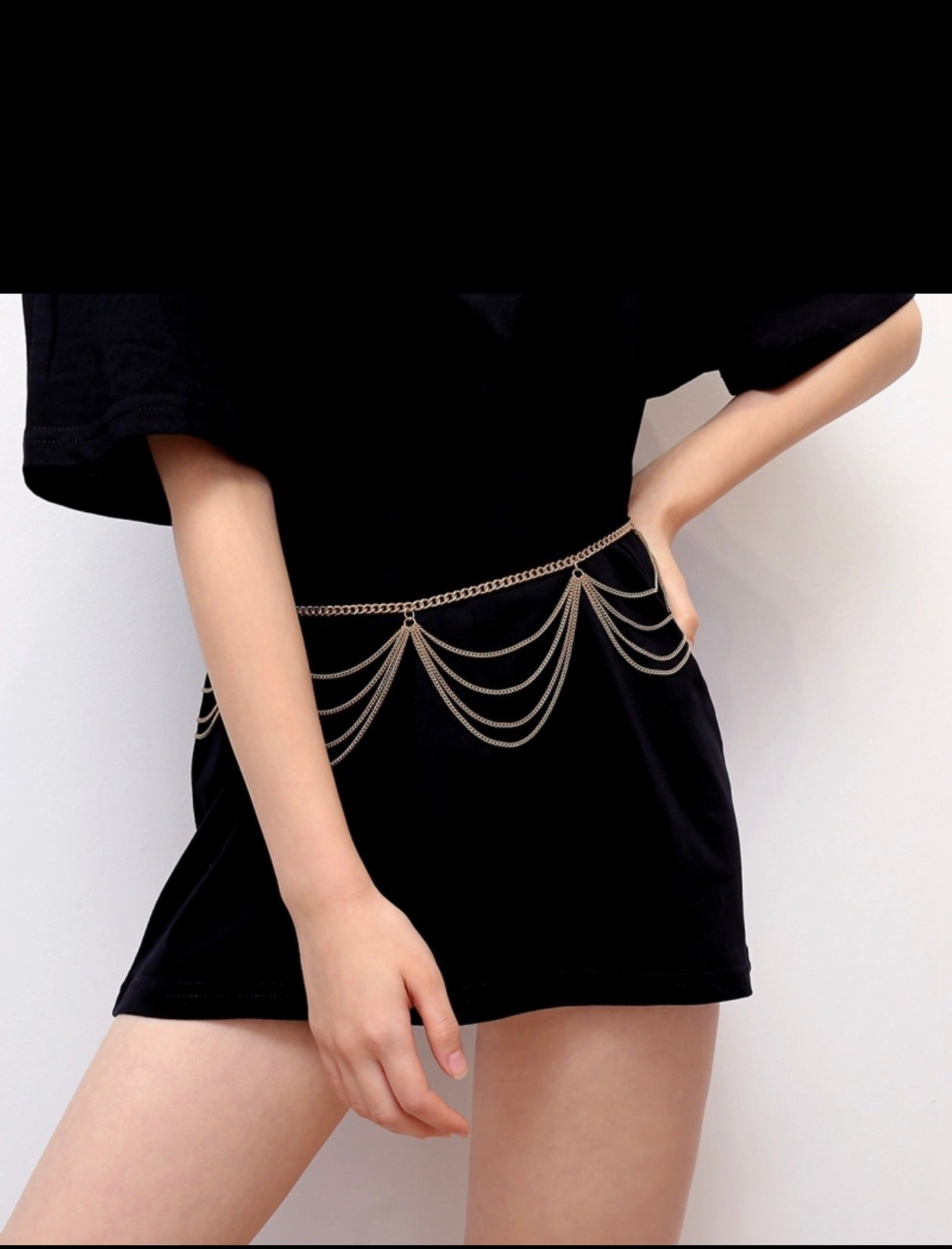Chandelier Chain Belt