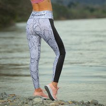 Load image into Gallery viewer, BLACK SIDE WILD LEGGINGS