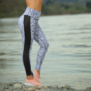 BLACK SIDE WILD LEGGINGS