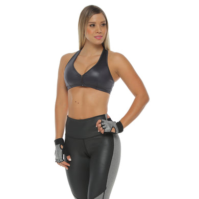 TOP FOR WOMEN FAUX LEATHER REF.  OLYMPIC TP002 - BJX Fitwear