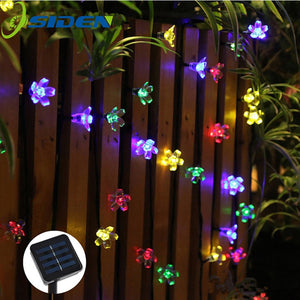 Solar String Garden Lights