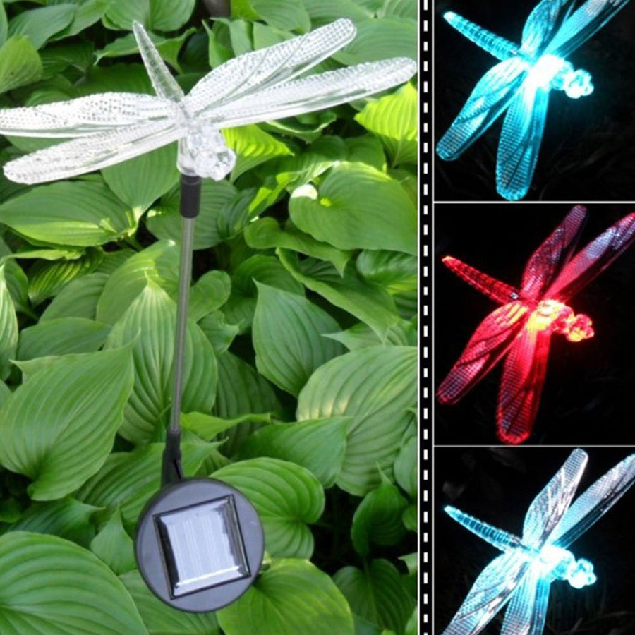 Color-Changing LED Solar Light