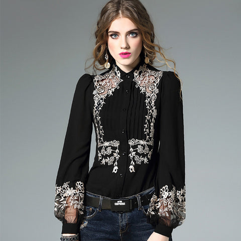 Lula Embroidered Blouse