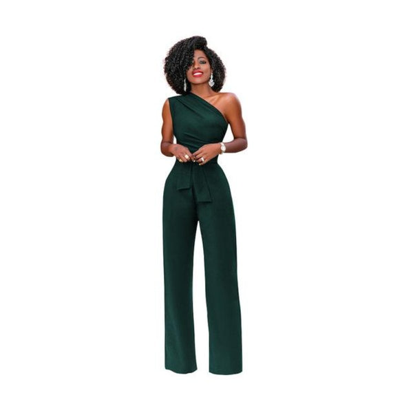 Felicia One Shoulder Jumpsuit