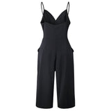 Veronica V-neck Wide Leg Jumpsuit