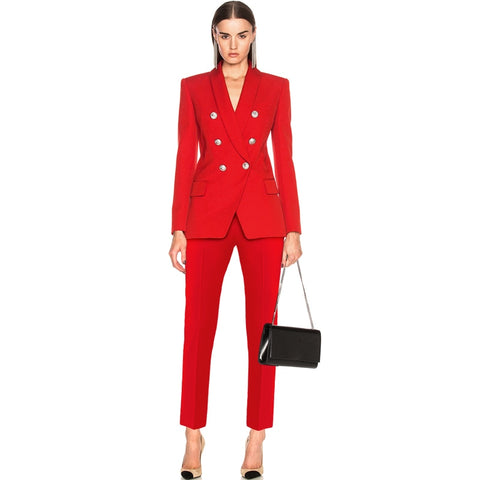 Bella Double Breasted Pant Suit