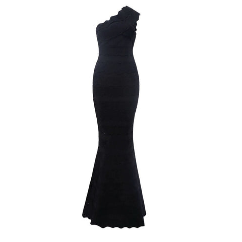 Dior One Shoulder Evening Dress