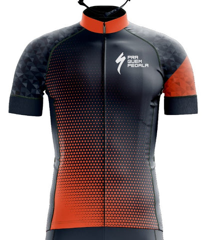 Uniforme PQP - Specialized Masculino (Camiseta + Bretelle)