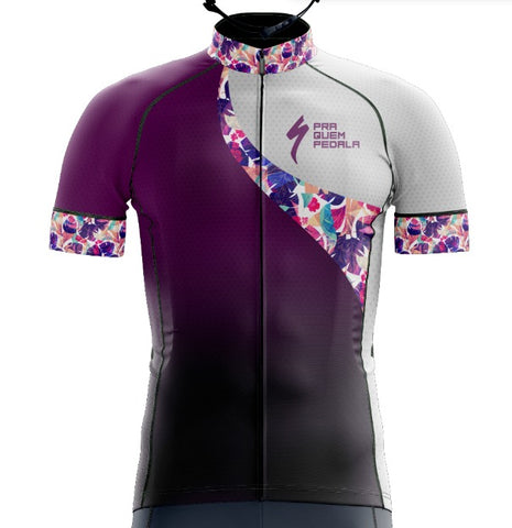 Uniforme PQP - Specialized Feminino (Camiseta + Bretelle)