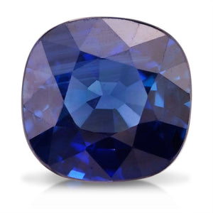 1.08 CARAT CUSHION NATURAL BLUE SAPPHIRE