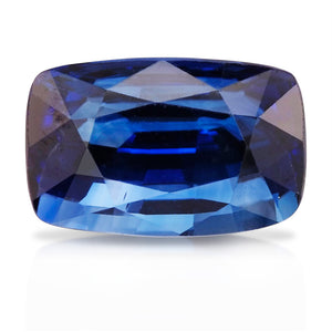 2.04 CARAT CUSHION NATURAL BLUE SAPPHIRE