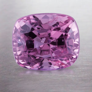 2.11 CARAT LONG CUSHION NATURAL PURPLE SPINEL