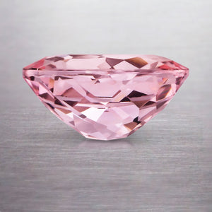 2.37 CARAT OVAL NATURAL PINK PEACH MORGANITE