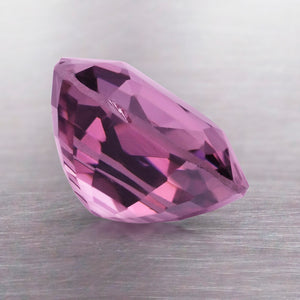 2.41 CARAT CUSHION NATURAL PURPLE SPINEL