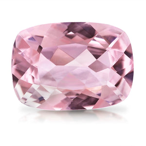 Pink Peach Loose Morganite 2.63ct Long Cushion