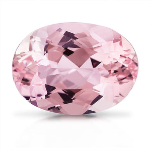 2.77 CARAT OVAL NATURAL PINK MORGANITE