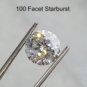 Harro Gem Round Brilliant Pristine Moissanite