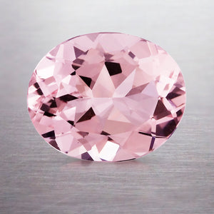3.00 CARAT OVAL NATURAL PINK MORGANITE