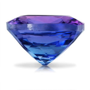 3.48 CARAT CUSHION NATURAL TANZANITE