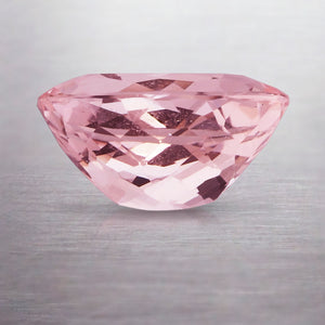 3.72ct CUSHION NATURAL MORGANITE