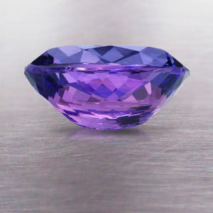 4.25 CARAT LONG CUSHION NATURAL TANZANITE