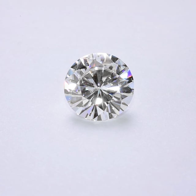 Forever One Round Colorless Moissanite Gemstone