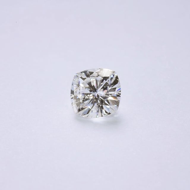 Forever One Cushion Near-Colorless Moissanite Gemstone