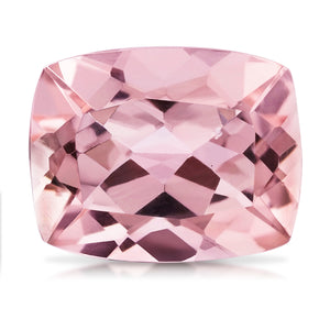 3.33 CARAT CUSHION NATURAL PINK MORGANITE
